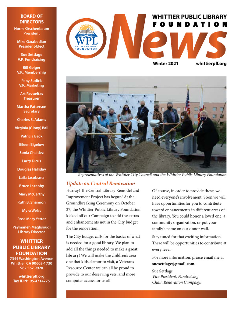 thumbnail of WPL-Foundation-News-Winter-2021